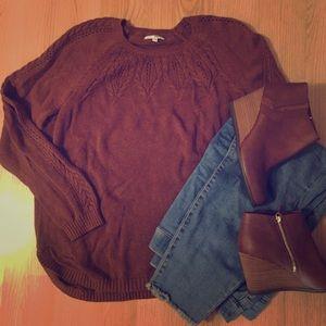 Sonoma XXL caramel sweater!